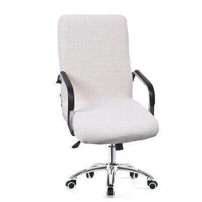 AU24.21 • Buy Swivel Computer Chair Cover Stretch Office Chair Protector Seat Decorations