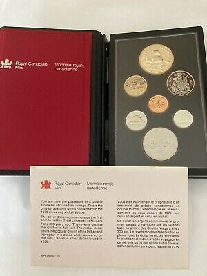 £36 • Buy 1979 And 1981 Royal Canadian Mint Coin Set With Silver Dollars Boxed