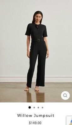 AU80 • Buy New One Mile Willow Jumpsuit In Black