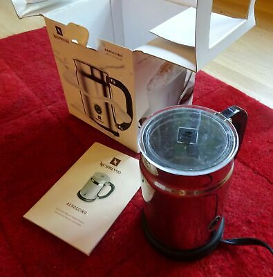 $40 • Buy Nespresso Aeroccino 3190 Automatic Electric Milk Frother W Box Instructions