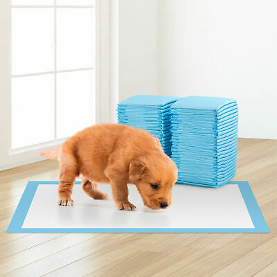 £12.99 • Buy 50 Large Puppy Training Trainer Train Pads Toilet Pee Wee Mats Poo Dog Pet Cat