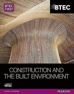 £29.43 • Buy  BTEC First Construction And The Built Environment Student Book, Simon Topliss,