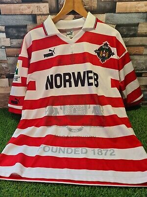 £27.99 • Buy Wigan Warriors NORWEB Puma Rugby Super League Centenary Jersey 1995/96 - Large