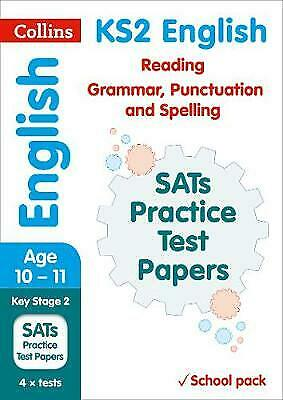 £5.19 • Buy KS2 English Reading, Grammar, Punctuation And Spelling SATs Practice Test Papers