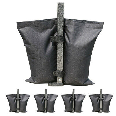 AU23.99 • Buy 4 PACK Garden Gazebo Foot Leg Feet Weights Sand Bags For Marquee Party Tent Set