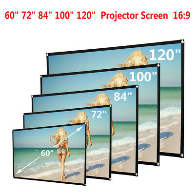 £10.59 • Buy Projector Projection Screen Film 16:9  Matte 3D HD And 4K Home Cinema Theater UK