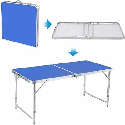 £25.50 • Buy Folding Camping Tables Outdoor Garden Picnic Festival Fishing Portable BBQ Table