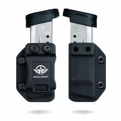 $17.99 • Buy IWB/OWB Magazine Holster Kydex For: M&P Shield 9mm/.40 Single Stack Mag Carrier