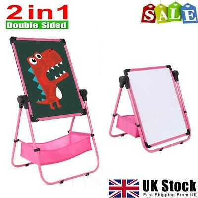 £21.89 • Buy Kids Drawing Board Art Easel Double Sided Magnetic Easel Children Easel Set Toy