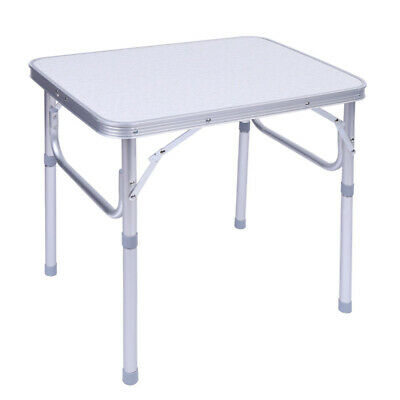 £21.09 • Buy Outdoor Folding Aluminum Camping Table Desk Stand Tray Portable For Picnic UK