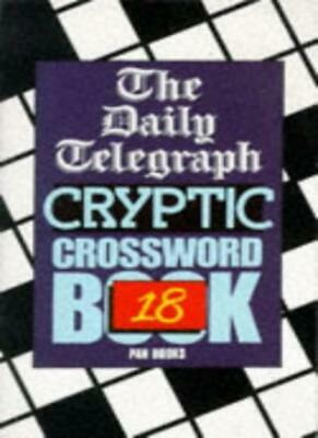 £51.10 • Buy Daily Telegraph  Cryptic Crossword Book: No.18,Telegraph Group Limited