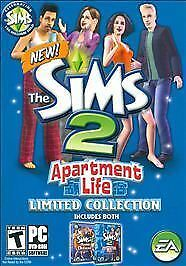 £63.91 • Buy The Sims 2: Apartment Life Limited Collection - PC