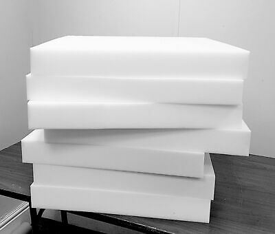 £8.99 • Buy High Density Cut To Size Upholstery Foam Sheet Cushion Seat Pad Any Thickness