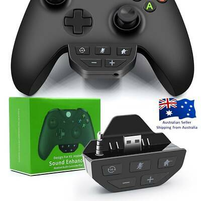 AU37.04 • Buy For XBOX One Game Controller 3.5mm Headset Adapter Headphone Audio Converter AUS