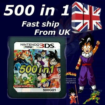 £9.56 • Buy NEW 500 In 1 Game Games Cartridge Multicart For Nintendo DS NDS NDSL NDSi 2DS UK