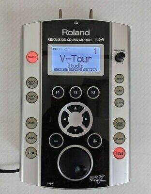 AU379.46 • Buy Roland TD-9 Percussion Sound Module V-Drums [w/cable] From JAPAN