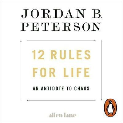 AU6.99 • Buy 12 Rules For Life-An Antidote To Chaos By Jordan B Peterson-Audio Book On 2 CD's