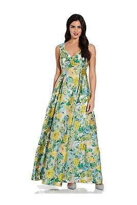 £45 • Buy Adrianna Papell Sleeveless Jacquard Gown