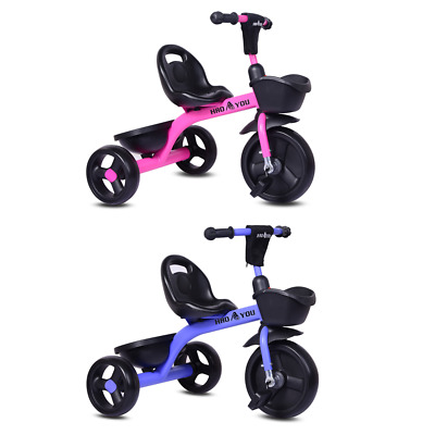 £19.99 • Buy UK Kids Children Tricycle Baby Pedal Ride On Trike 3 Wheels Toddler Safety Toy