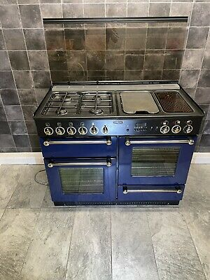 £670 • Buy Leisure By Rangemaster 110 Cm Dual Fuel Range Cooker In Blue And Brass