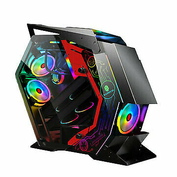AU219 • Buy ATX Computer Gaming Case Special-Shaped Desktop Computer Mainframe Support M-ATX