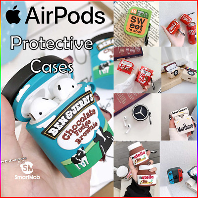 AU9.95 • Buy Apple AirPods Gen 1/2 Pros Premium Cartoon Style Silicone Protective Case Cover