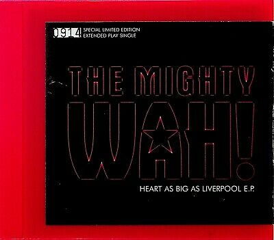 £9.99 • Buy THE MIGHTY WAH Heart As Big As Liverpool EP CD (1998 LIMITED EDITION) Pete Wylie