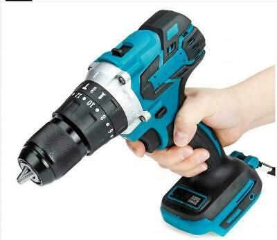 £30.70 • Buy 18V Cordless Brushless Impact Hammer Drill Body Only For Makita Replacement