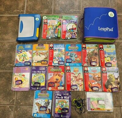 £60 • Buy Leapfrog Leappad Learning System Set, 12 Books & Record And Play Microphone Set.