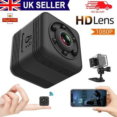 £16.99 • Buy Mini HD 1080P Wireless Wifi Camera IP CCTV Night Vision In/Outdoor Home Security