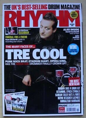 £8 • Buy Green Day Rhythm #170 Magazine Nov 2009 Tre Cool Cover With Feature Inside Uk