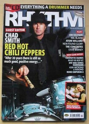 £8 • Buy Red Hot Chili Peppers Rhythm #100 Magazine July 2004 Chad Smith Cover With More