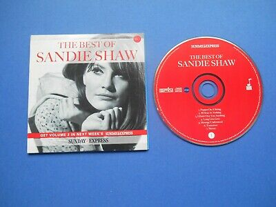 £1.69 • Buy The Best Of Sandie Shaw Promo Cd Vol 1 Sunday Express Vg