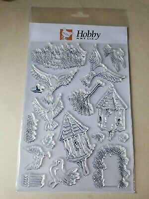 £5.50 • Buy Hobby Art Rubber Stamps - Dovecote