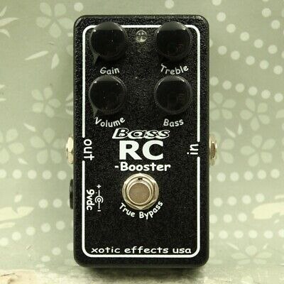 £75.13 • Buy Xotic Bass RC Booster Bass Guitar Clean Boost Effect Pedal
