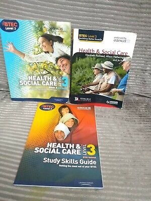 £19.99 • Buy Bundle Of BTEC Level 3 National Health And Social Care Books