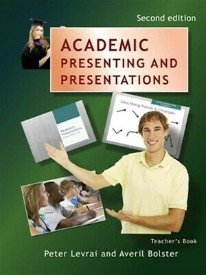 £13.74 • Buy Academic Presenting And Presentations - Teacher's Book, Paperback By Levrai, ...