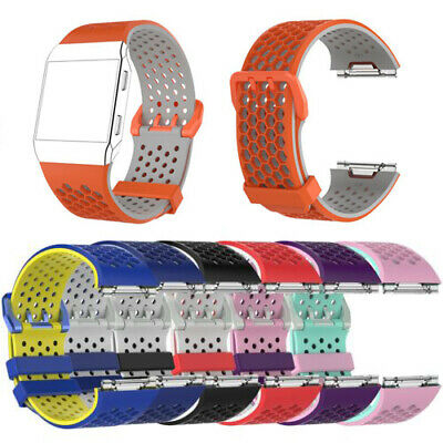 $ CDN9.45 • Buy S/L Silicone Watch Band Strap Bracelet For Fitbit Ionic Smart Watch Spare Parts