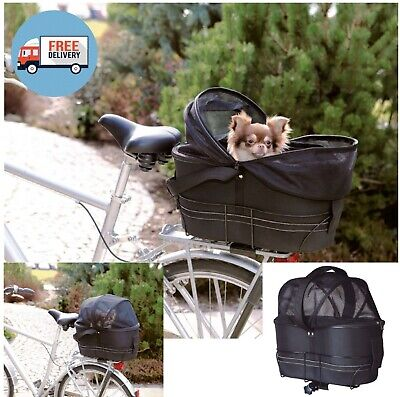 £56.45 • Buy DOG CAT PET CARRIER - Safe Travel Bike Bicycle Cycle Basket Bag For Cycling