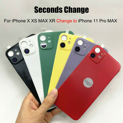 £2.96 • Buy 11 Pro Max Fake Camera Lens Cover Back Film Sticker For IPhone XR X XS Max
