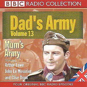 £22.90 • Buy Dads Army, Vol. 13, Mums Army (BBC Radio Collection), Perry, Jimmy, Used; Good C