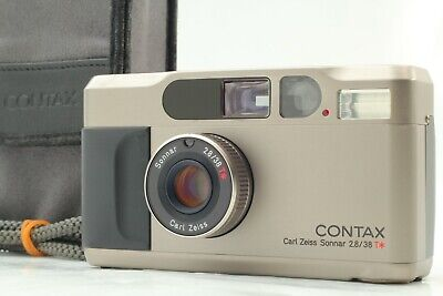 $ CDN1457.34 • Buy [MINT In Case] Contax T2 Data Back 35mm Point & Shoot Film Camera From Japan