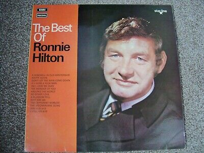 £6 • Buy The Best Of Ronnie Hilton    Signed Copy   1970