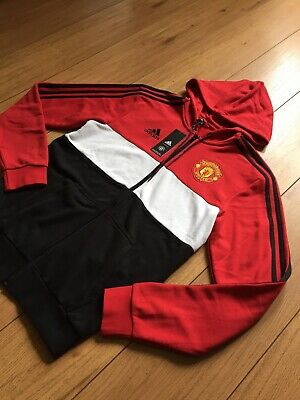£39.99 • Buy Adidas Manchester United/man Utd Track Top/hoodie Size Uk Small..brand New Tags