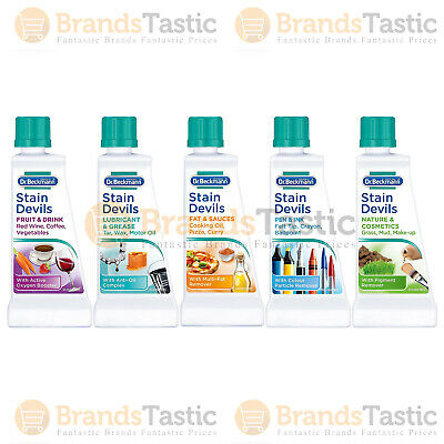 £2.75 • Buy Dr Beckmann Stain Devils Removes Stains Fat Sauces Fruit Grease Ink Drink 50ml
