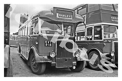 £1.20 • Buy Bus Photograph POTTERIES MOTOR TRACTION KVT 918 [S324] Hanley '60