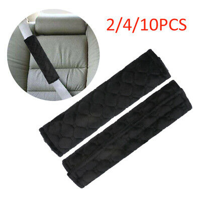 £2.80 • Buy 2/4/10X Car Seat Belt Cover Pads Car Safety Cushion Covers Strap Pad Universal