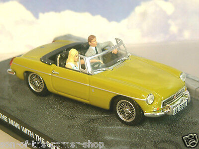 £12.95 • Buy Excellent Diecast 1/43 James Bond 007 Mgb Mg B From The Man With The Golden Gun