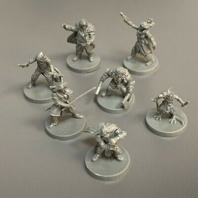 AU13.10 • Buy Lot 7 PCS HEROES Game Figure Fit For Dungeons & Dragon D&D Miniatures Toy