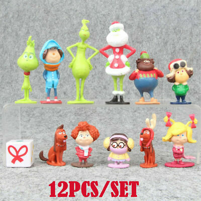 £7.99 • Buy How The Grinch Stole Christmas The Grinch 12PCS Action Figure Kids Toy Doll